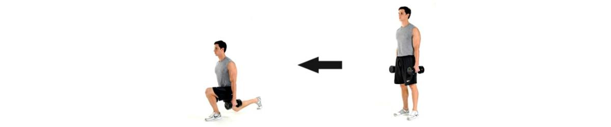 hoe word ik fit lunge