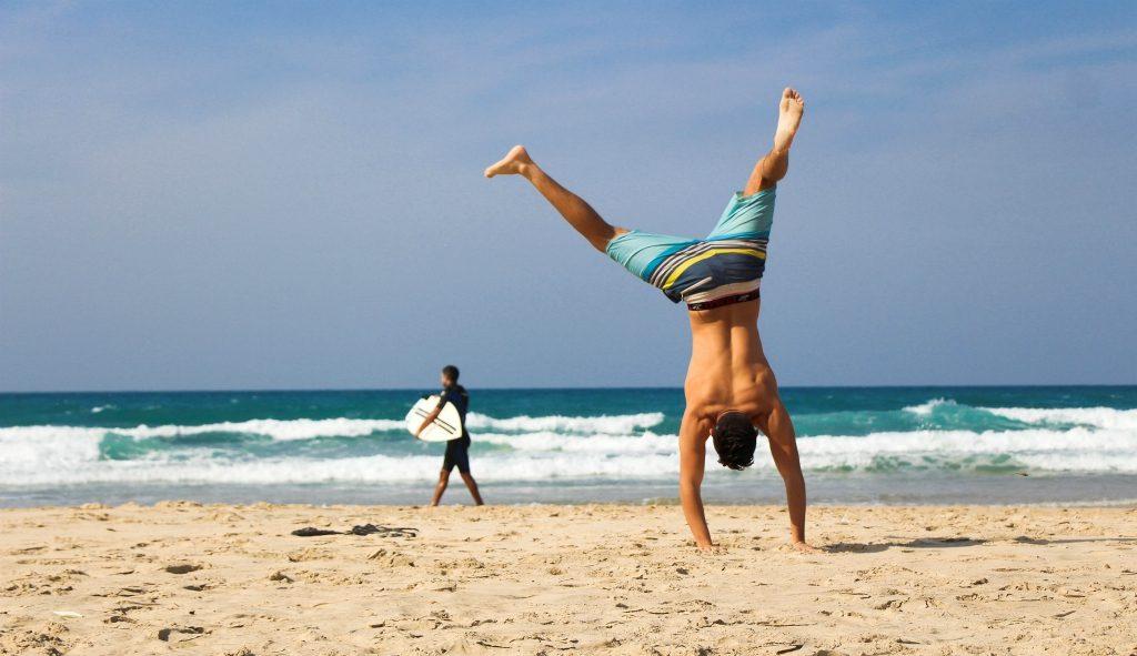 fit blijven op vakantie